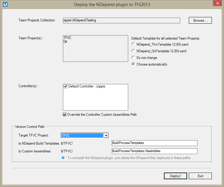 Integrate Ndepend With Tfs