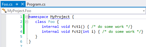 Declare CQLinq rules in C# or VB NET source code